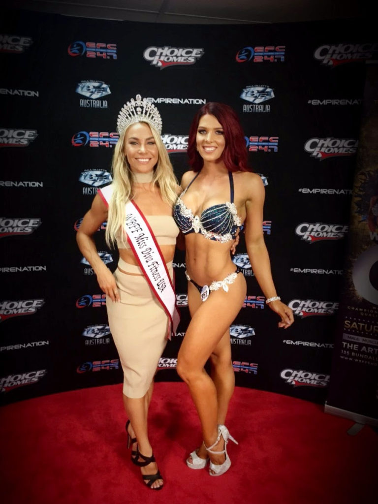 The Sports Model Project Dominated The WBFF Australia Show! - The