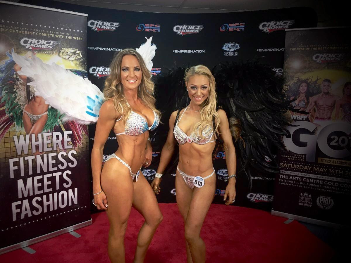 The Sports Model Project Dominated The WBFF Australia Show